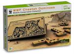 WWF Cheetah Dominoes - Wooden