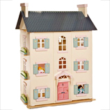 Cherry Tree Hall Wooden Dolls House