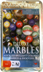 Classic Deluxe Marbles in a Tin