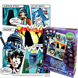 Doctor Who Comic Book 1000 Piece Jigsaw Puzzle