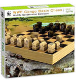 WWF Congo Basin Chess - Wooden