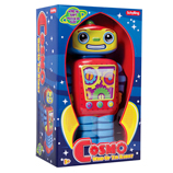 Wind-Up Cosmo Tin Robot - Classic Retro Style Tin Toy
