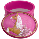 "Trail of the Painted Ponies - ""Cowgirl Cadillac"" Keepsake Box"