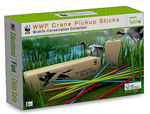 WWF Crane Pick Up Sticks - Wooden