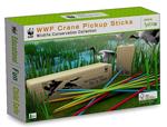 WWF Crane Pick Up Sticks - Wooden