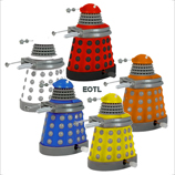 Dr Who - Wind Up Dalek Drone 5 Pack