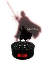 Star Wars Darth Vader Shadow Alarm Clock with SFX
