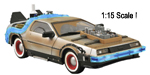 Back to the Future 3 DeLorean Time Machine 1:15 with SFX