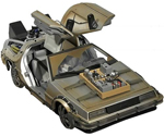Back to the Future 3 Rail Ready DeLorean Time Machine 1:15 with SFX