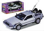 Back to the Future DeLorean Time Machine 1:24