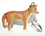 Dingo Key Ring 6.0cm