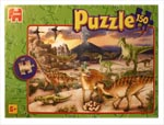 Dinosaur Puzzle with Volcano 150pcs