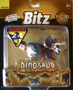 Bitz™ Dinosaur - Triceratops 24 pcs