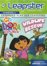 Dora The Explorer Wildlife Rescue - EP for Leapster 2