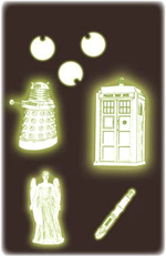 Dr Who - Glow in the Dark 2D Stickers