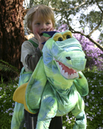 Kids Safari Wrap'n'Ride Dragon