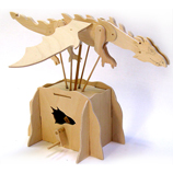 Flying Dragon Working Wooden Construction Kit