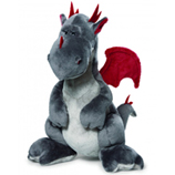 Nici Grey Dragon Plush 30cm