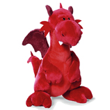 Nici Red Dragon Plush 30cm