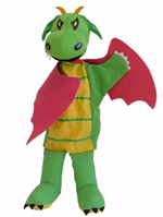 Dragon Character Hand Puppet