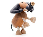AnamalZ Elephant Wooden Figure