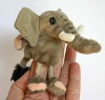 Finger Puppet - Elephant