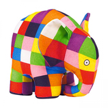 Elmer the Patchwork Elephant Plush -20cm