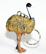 Emu Replica Key Ring 6.5cm Tall