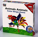 Eric Carle - Animals, Animals, Colour Bingo