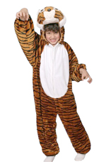 Kids Safari Tiger Costume