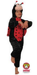 Kids Safari LadyBug Costume