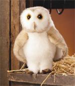 Folkmanis Barn Owl Puppet 32cm
