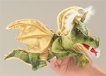 Folkmanis Green Dragon Puppet