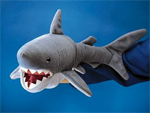 Folkmanis Shark Hand Puppet 55cm