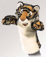 Folkmanis Tiger Stage Puppet