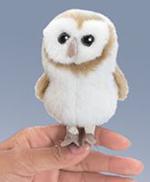 Folkmanis - Barn Owl Finger Puppet