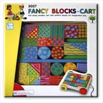 Fancy Blocks Pull Along Cart