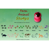 Farm Animal Stamps Set of 8