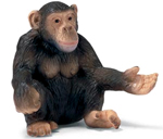 Schleich - Chimpanzee Female- 14191