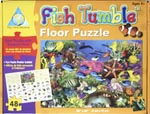 Fish Tumble Floor Puzzle (91cm x 61cm)