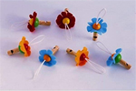 Flower Whistle - Wooden