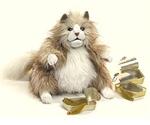 Folkmanis Fluffly Fat Cat Hand Puppet