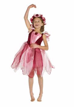 Forest Fairy Burgundy Dress