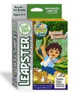 Leapster - Go Diego Go Animal Rescue - Game Cratridge