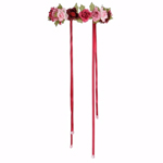 Garland Rose Adjustable Headpiece
