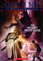 The Seventh Tower - The Violet Keystone By Garth Nix