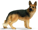 Schleich German Shepherd Female Dog - 16375