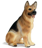 Schleich German Shepherd Male Dog - 16376