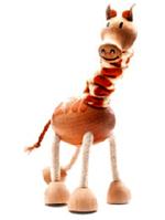 AnamalZ Giraffe Wooden Figure