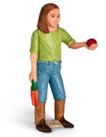 Schleich - Girl Feeding - 13464